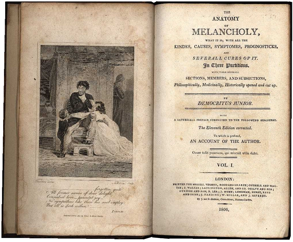 Nicely Abridged Books - Anatomy of Melancholy