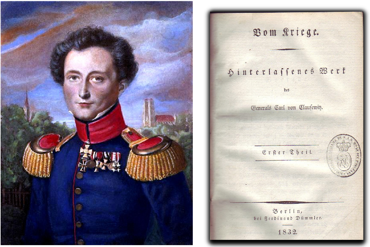 carl von clausewitz essay Carl von clausewitz's on war (berlin, 1832) is one of those classic works more often cited than read to many people, clausewitz is reducible to his famous statement in chapter one that [w]ar is merely the continuation of policy by other means (der krieg ist eine blosse fortsetzung der.