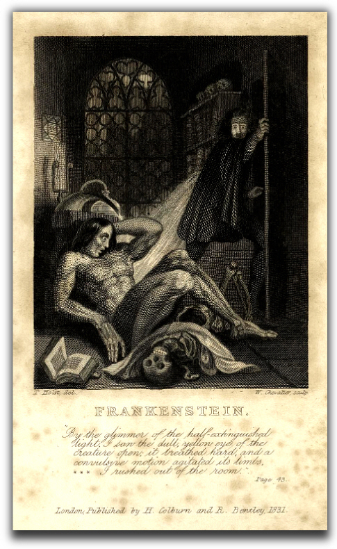 frankenstein psychoanalysis
