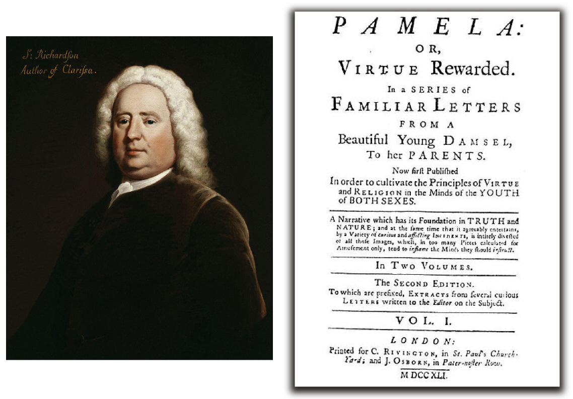 an evaluation of the novel pamela or virtue rewarded by samuel richardson Chapter 2 centers upon richardson's pamela and how the  in other words, the  reader is viewing pamela's self-examination, her version of  the subtitle of  samuel richardson novel pamela—virtue rewarded—is a signal.