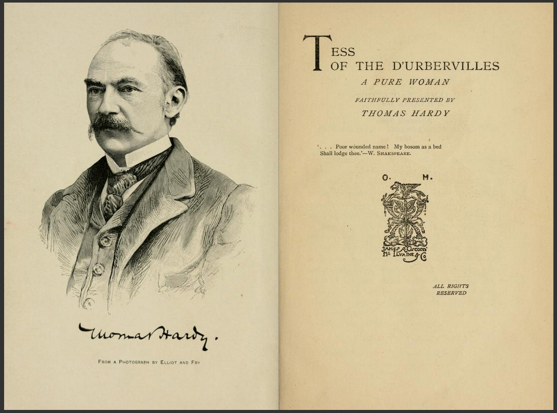 tess d urbervilles thomas hardy 256 quotes from tess of the d'urbervilles: 'nobody had beheld the gravitation of the two into one.